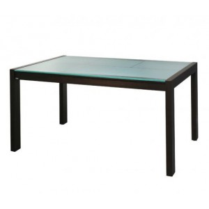 Medium Frosted Dining Table